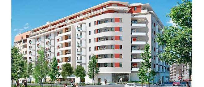 Le programme Bouygues Immobilier sur l'avenue Cantini.