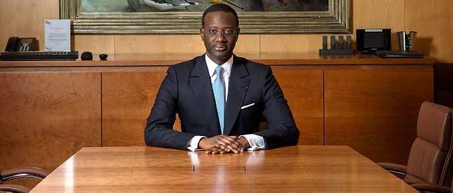 Tidjane Thiam, 51 ans, directeur général de Prudential, est le premier patron noir d'une entreprise du Footsie, le CAC 40 britannique.