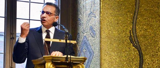 Fadi Chehadé, président de l'Icann. Photo prise le 21 mai 2013 à l'hôtel de ville de Stockholm, en marge du Stockholm Internet Forum.