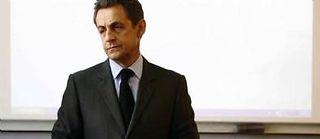 Nicolas Sarkozy en mars 2012. ©Ludovic Pool