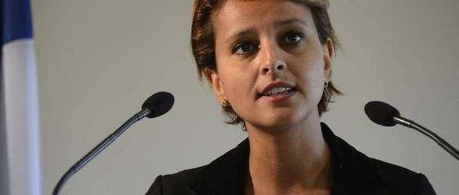 La ministre des Droits des femmes et porte-parole du gouvernement, Najat Vallaud-Belkacem.