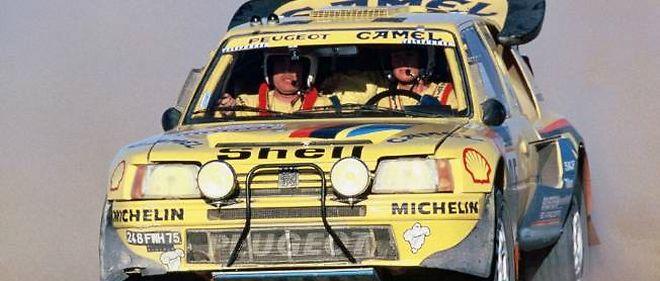Peugeot, qui a déjà remporté quatre Dakar (ici en 1987), espère augmenter son palmarès dès l'édition 2015.