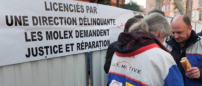 Les salariés de Molex reprochaient à leur ancien employeur de ne pas avoir exécuté le plan social grâce à la mise en liquidation judiciaire de la société.