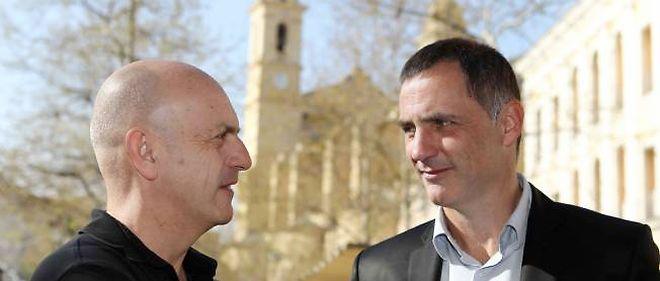 Gilles Simeoni (à droite).