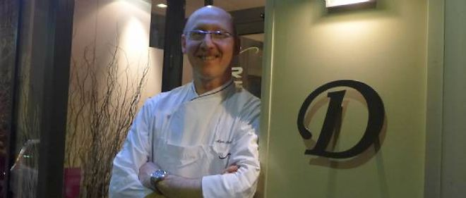 Mark Singer, chef du Dodin dans le 17e arrondissement à Paris.
