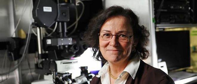 """Christine Petit est la responsable de l'unité de recherche Inserm UMRS 587 """"Génétique et physiologie de l'audition"""""""