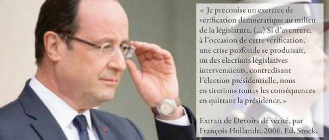 Quand François Hollande n'était pas encore président...