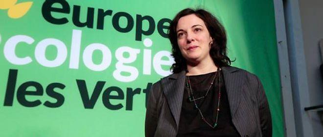 La secrétaire nationale d'Europe Écologie-Les Verts, Emmanuelle Cosse.
