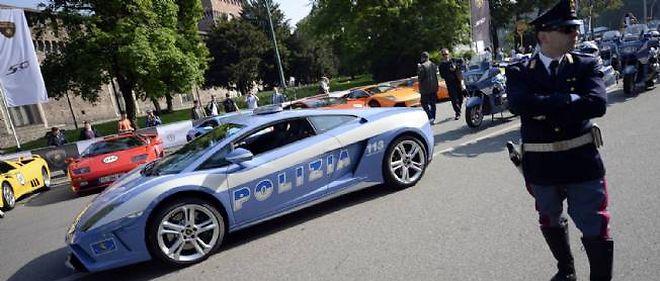 Les policiers italiens pourront bientôt concentrer leurs patrouilles sur les portions d'autoroute les plus dangereuses sur lesquelles les limitations de vitesse resteront en vigueur.