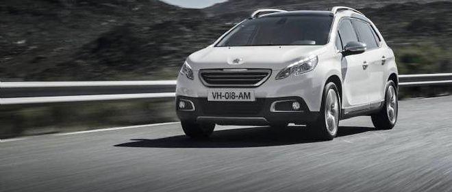 """Le petit crossover de Peugeot va bientôt croiser sur sa route un nouveau concurrent """"interne"""", le Citroën C-Cactus."""