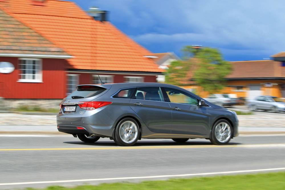 Selon Transport&Environment, la Hyundai i40 1.6 GDI émet environ 4 fois plus de particules que ce que la norme autorise pour les moteurs diesel. ©  Hyundai