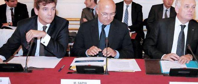 Arnaud Montebourg et Michel Sapin devront appliquer des décisions prises par leurs prédécesseurs.