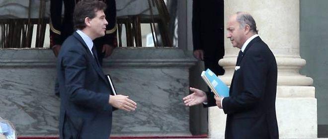 Le Commerce extérieur revient au ministère des Affaires étrangères, dirigé par Laurent Fabius.