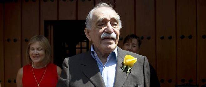 Gabriel Garcia Marquez lors de son 87e anniversaire, le 6 mars 2014, à Mexico.