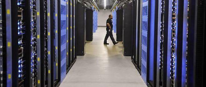 Un centre de données. Photo d'illustration. © Rainier Ehrhardt / Getty / AFP
