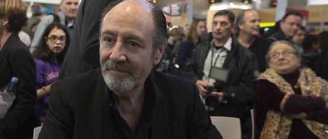 Michel Delpech, ici en mars 2014 à Paris.