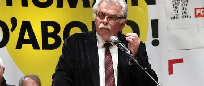 André Chassaigne, chef de file des députés du Front de gauche.
