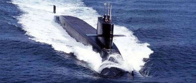 Un sous-marin nucléaire lanceur d'engins (SNLE) de la marine nationale.