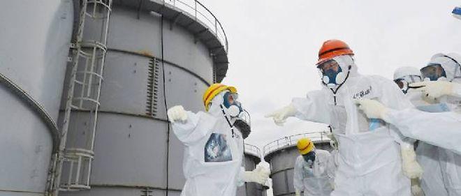 La centrale de Fukushima