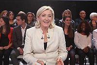 Marine Le Pen, qui était l'invitée de l'émission de David Pujadas