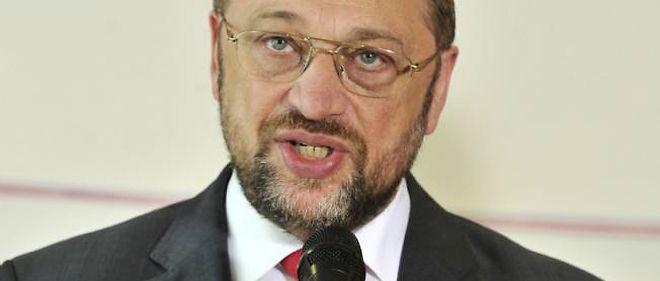 Martin Schulz considère que Marine Le Pen n'a laissé aucune trace au Parlement européen.