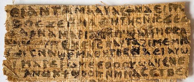 Le papyrus évoquant la femme de Jésus est controversé.