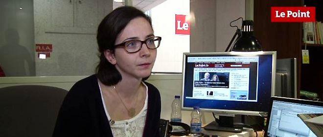 """Ségolène de Larquier, journaliste politique du """"Point""""."""