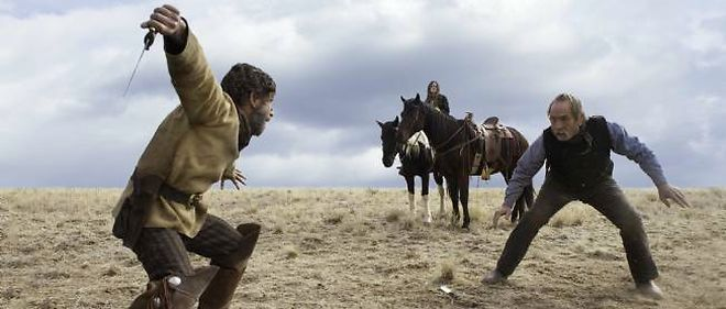 "Tommy Lee Jones dans ""The Homesman""."