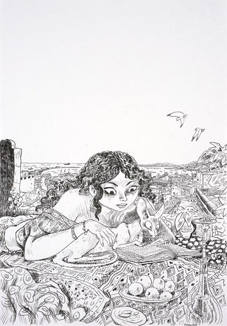 Le Chat du rabbin, L'intégrale 2010, de Joann Sfar. ©  Artcurial