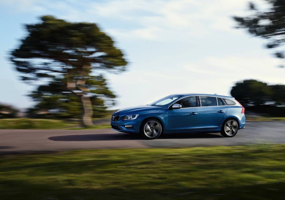 Hybrid à l'extérieur, putifiée à l'intérieur, la Volvo ménage l'environnement ©  Volvo