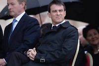 Manuel Valls au Vatican, dimanche. ©Filippo Monteforte