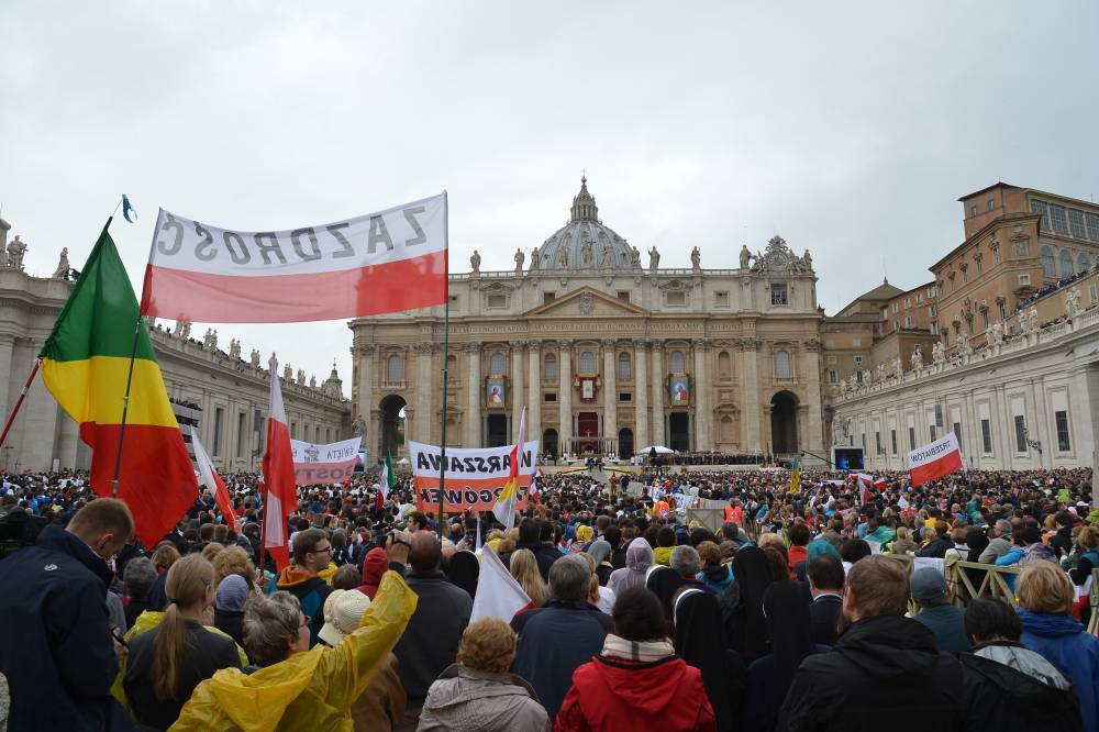 La basilique Saint-Pierre de Rome, dimanche © Alberto Pizzoli, AFP