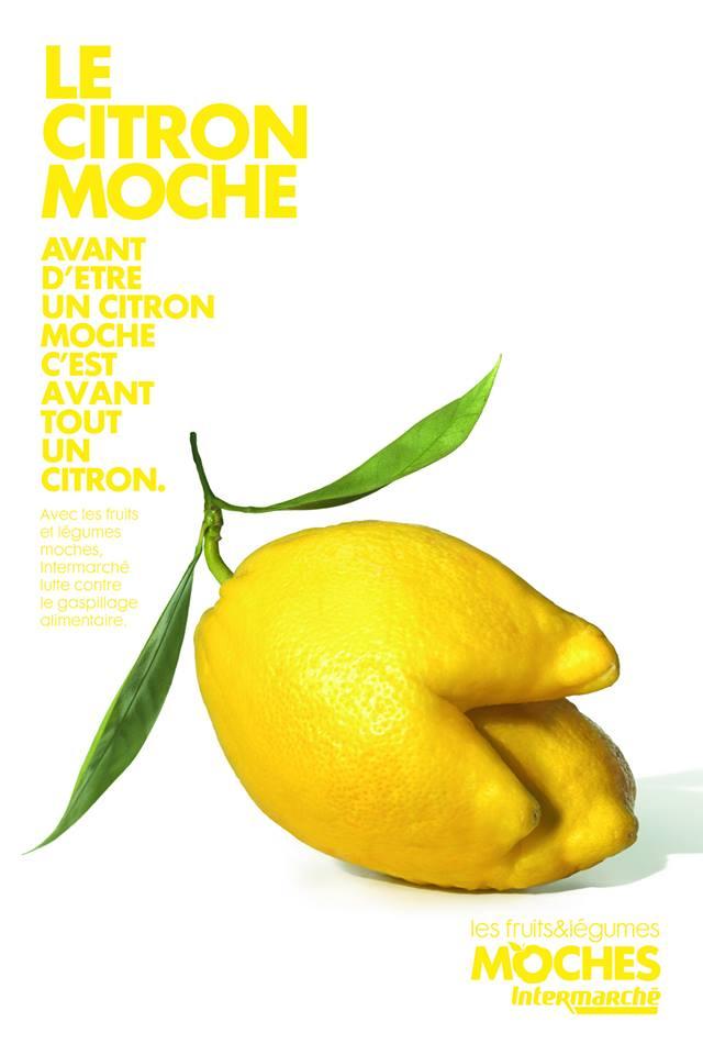 Le citron moche © Agence Marcel / Intermarché