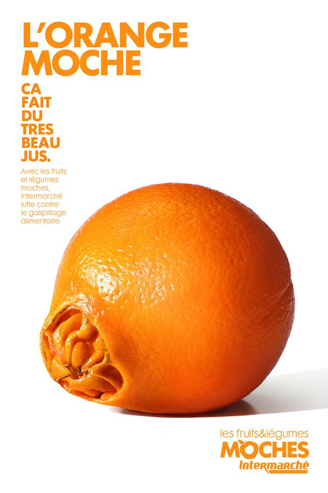 L'orange moche © Agence Marcel / Intermarché