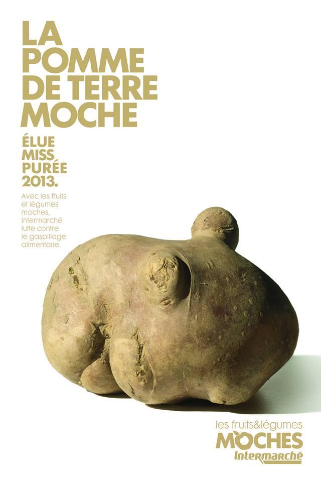 La pomme de terre moche © Agence Marcel / Intermarché