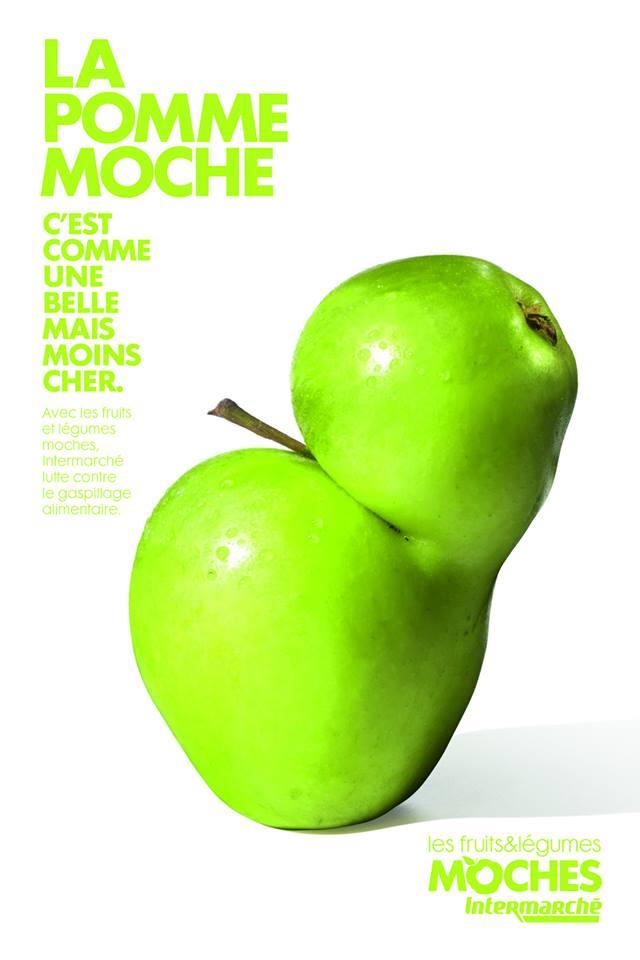 La pomme moche © Agence Marcel / Intermarché