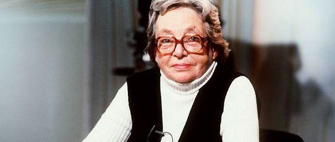"""Marguerite Duras sur le plateau d'""""Apostrophes"""", le 28 septembre 1984."""
