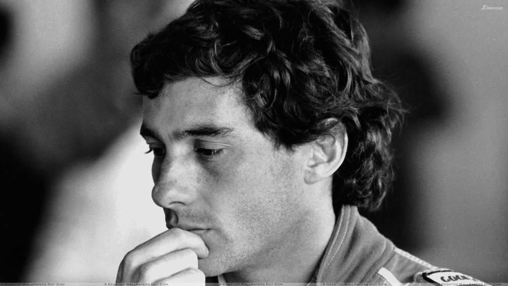 Ayrton Senna. ©  DR