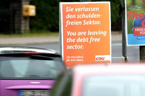 """""""Vous sortez du secteur libre de toute dette"""""""