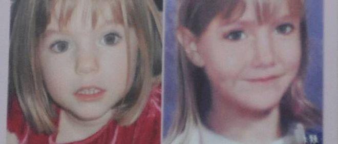 À gauche, Maddie peu avant sa disparition. À droite, ce à quoi elle pourrait ressembler aujourd'hui.