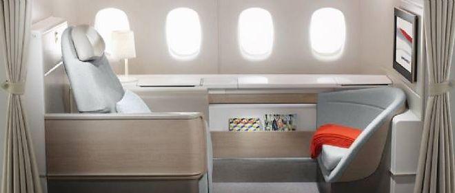 480aa6469662c5 Seulement quatre suites de premiere classe ont ete prevues par Air France  sur les Boeing 777