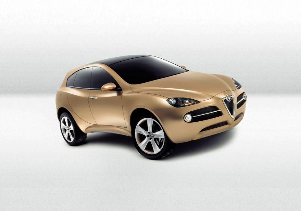Le projet Kamal remonte à 2003. Alfa Romeo aurait du persister, le SUV est aujourd'hui en vogue ©  Alfa Romeo
