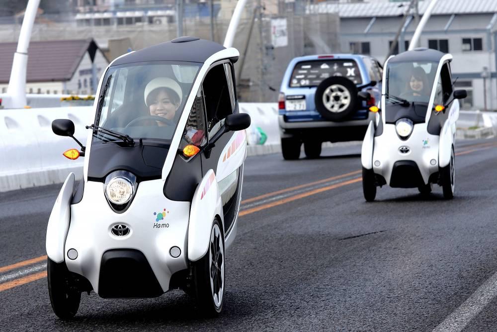 L' i Road est accesisble au public à Tokyo ©  Toyota