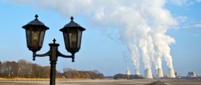 La plus grande centrale à charbon d'Allemagne, à Jänschwalde, dans le Land du Brandebourg, dans l'est du pays.