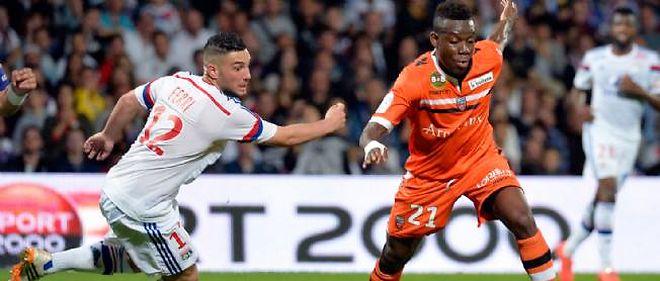 Lorient s'impose à Lyon 1 à 0 sur un but de Doukouré.