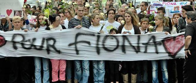 Une marche pour Fiona a été organisée en octobre 2013 à Clermont-Ferrand.