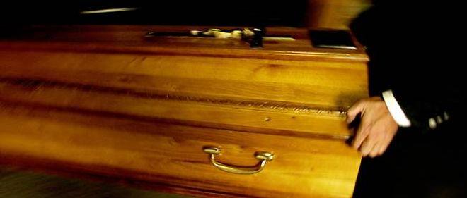 Un cercueil, image d'illustration.