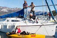 La Société des régates à voile a compté de grands navigateurs parmi ses adhérents. ©Patrice Coppee/AFP