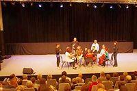 L'auditorium Saint-François-de Sales accueille de nombreux patrons ©JMB