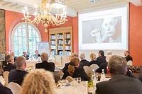 La fondation Mérieux accueille des conférences internationales. ©Patrice Coppée/AFP